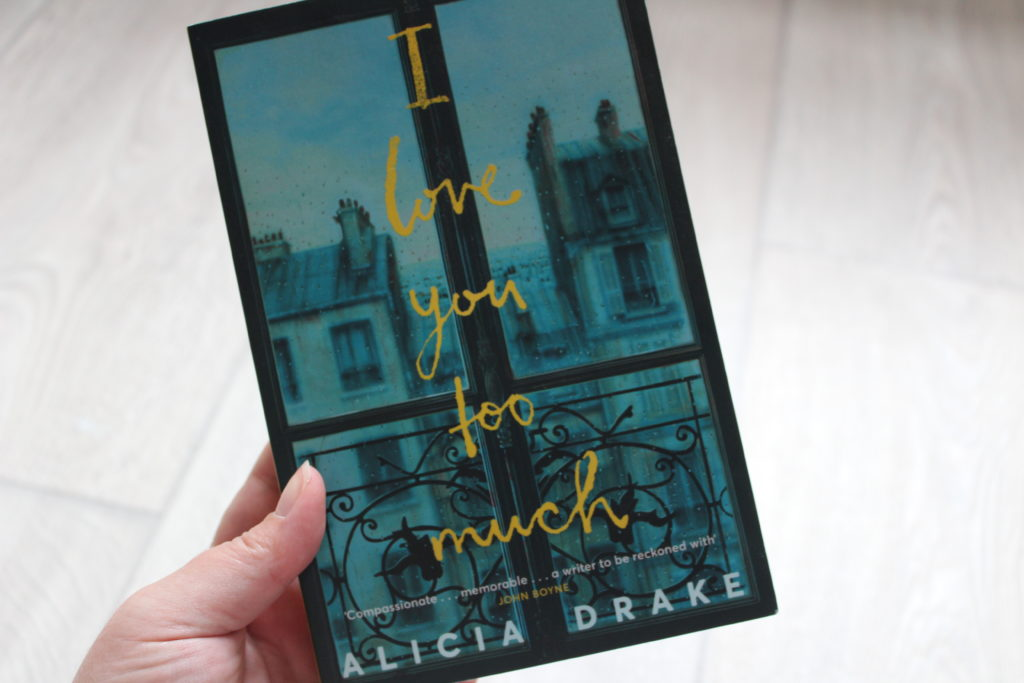 A photo of the cover of I Love You Too Much by Alicia Drake.